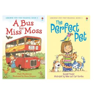 Usborne - A bus for Miss Moss, The perfect pet