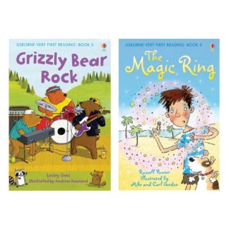 Usborne - Grizzly bear rock, The magic ring