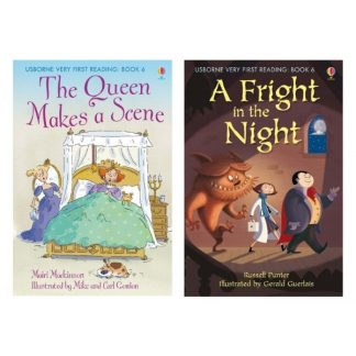 Usborne - The Queen makes a scene, A fright in the night